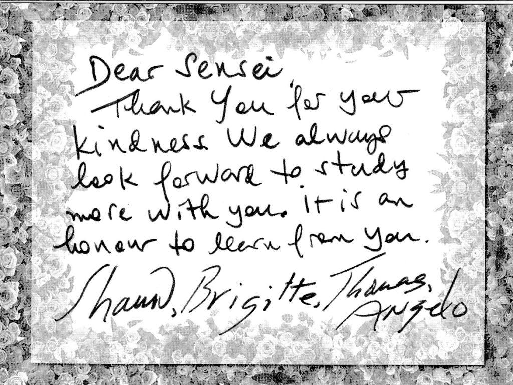 海外からの手紙 shawn